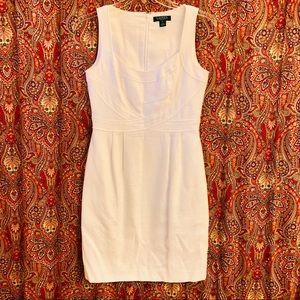 Lauren Ralph Lauren white sleeveless Dress Size 8